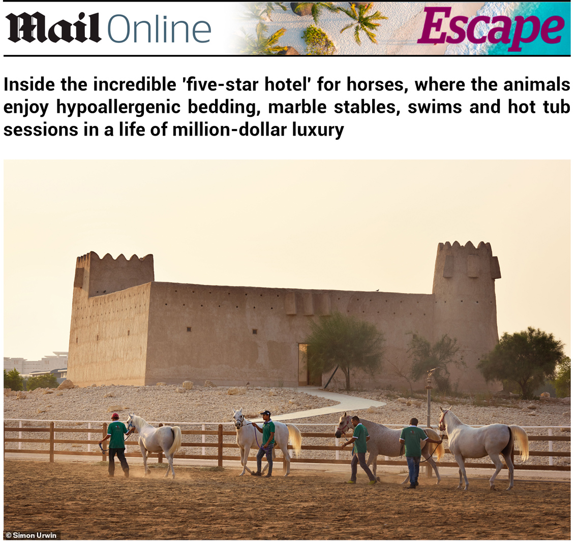 Qatar | Daily Mail | Simon Urwin | Published Articles & Photography