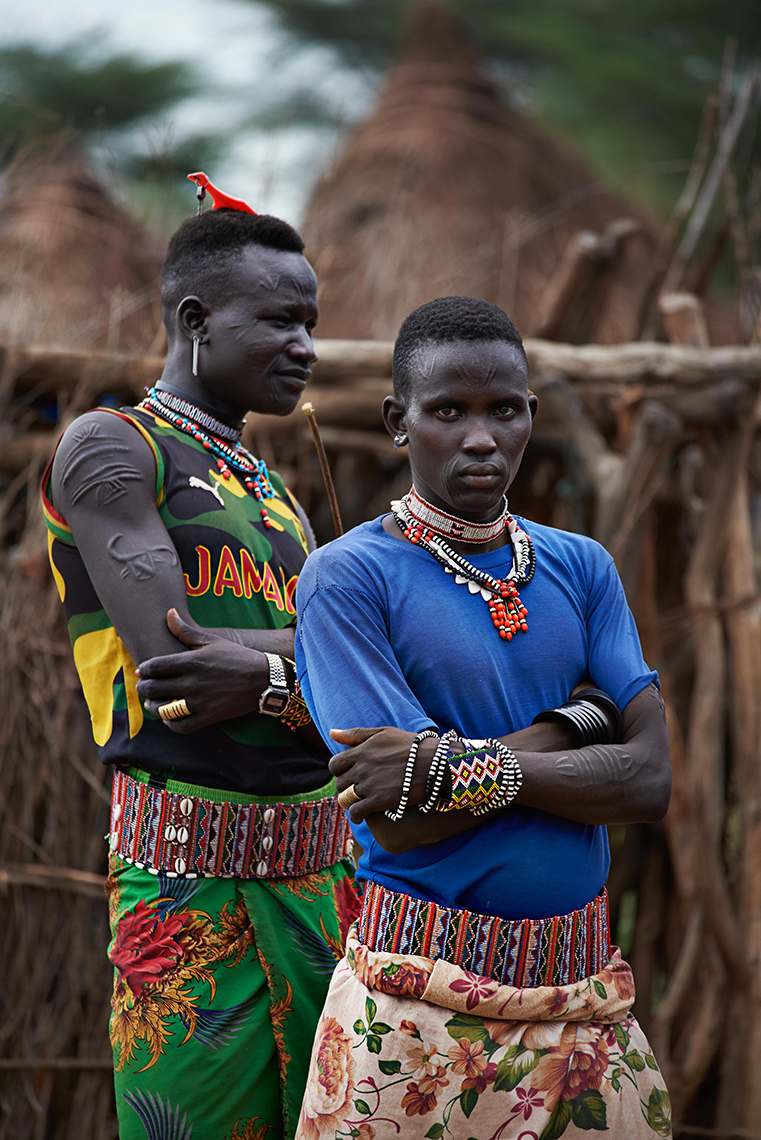 People | Men of the Toposa tribe, South Sudan