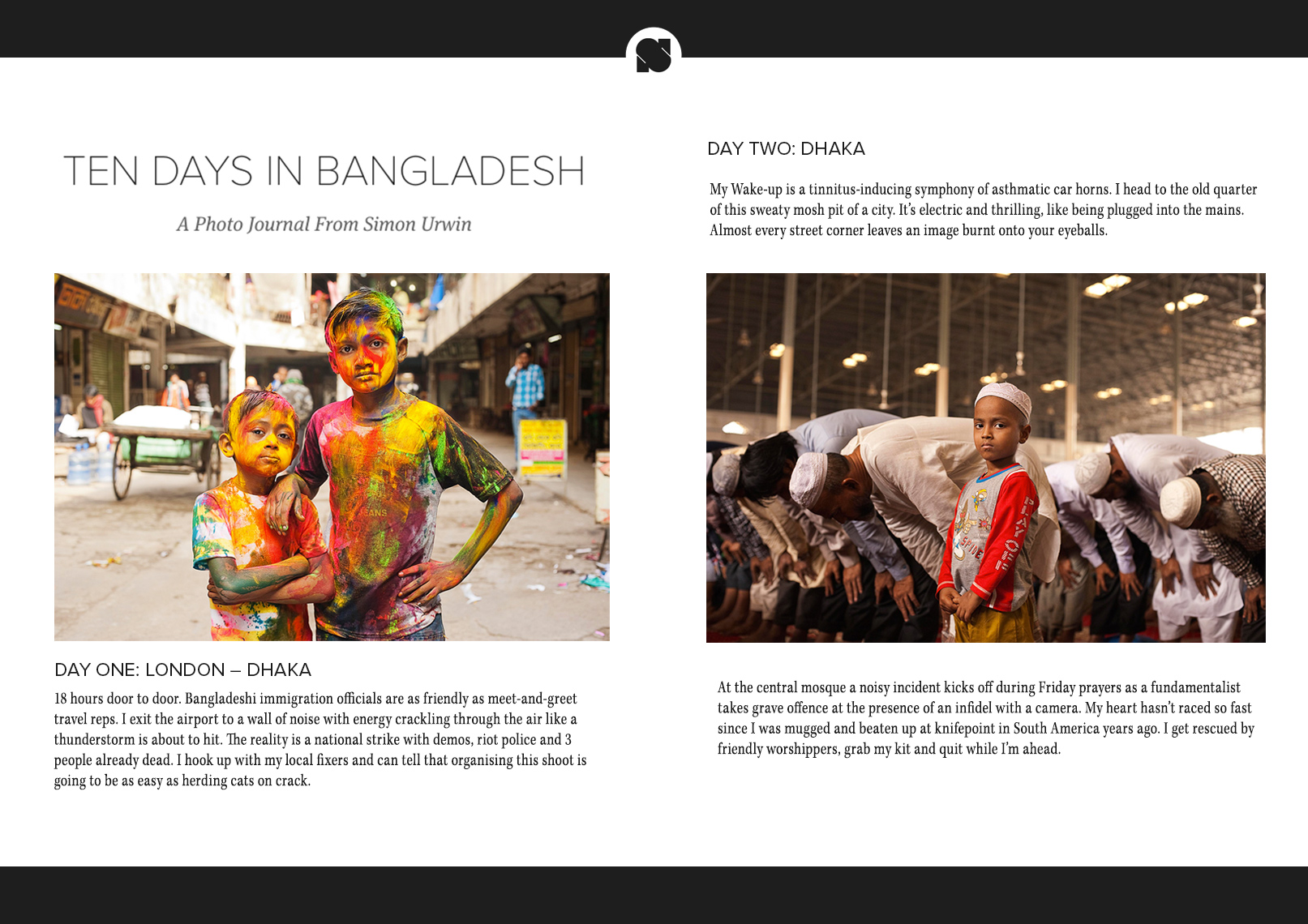 Published photography | Bangladesh | Sidetracked Magazine