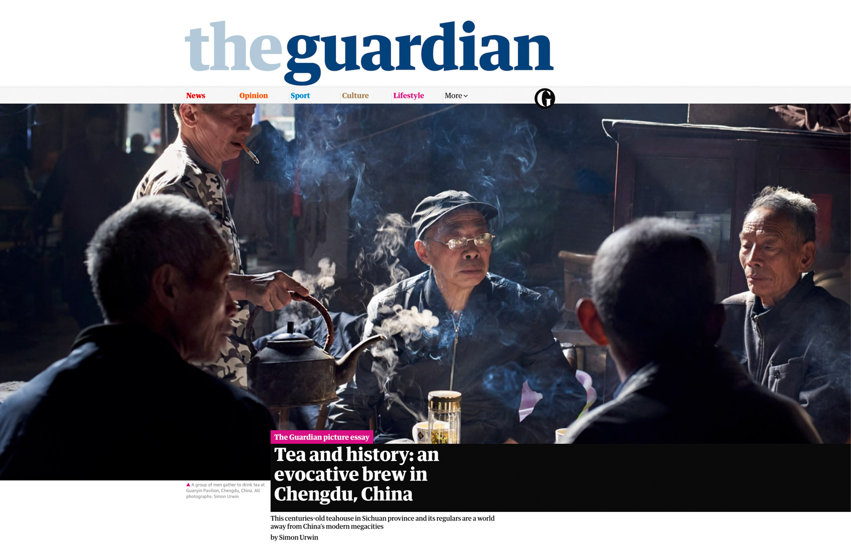 Published photography | China | Guardian