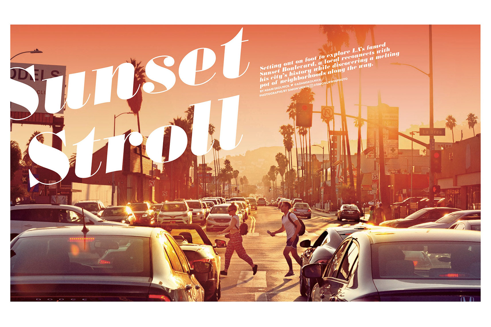 Los Angeles | LA | Sunset Blvd | Simon Urwin | Published Articles & Photography