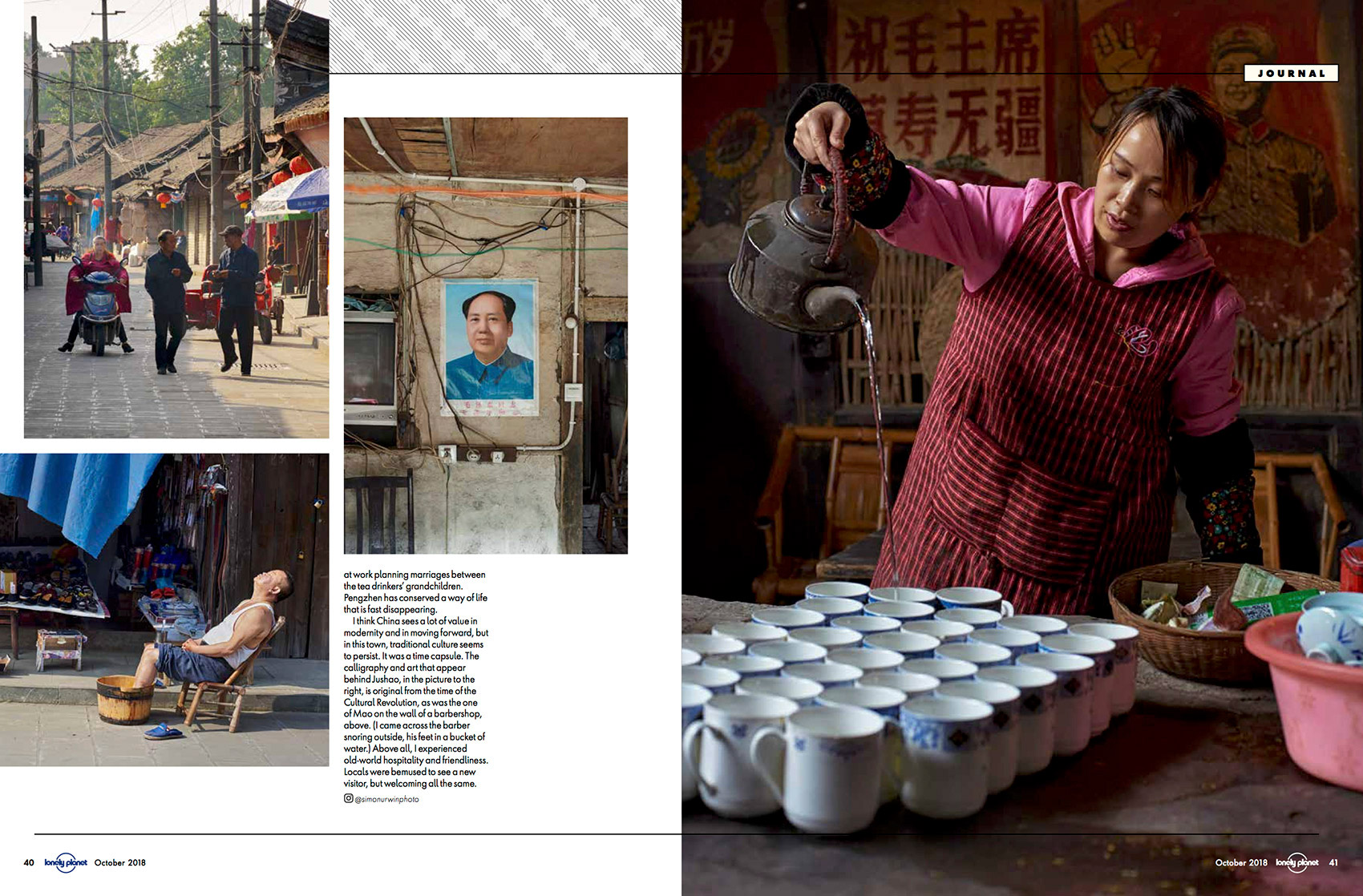 China | Lonely Planet Traveller | Simon Urwin | Published Articles & Photography