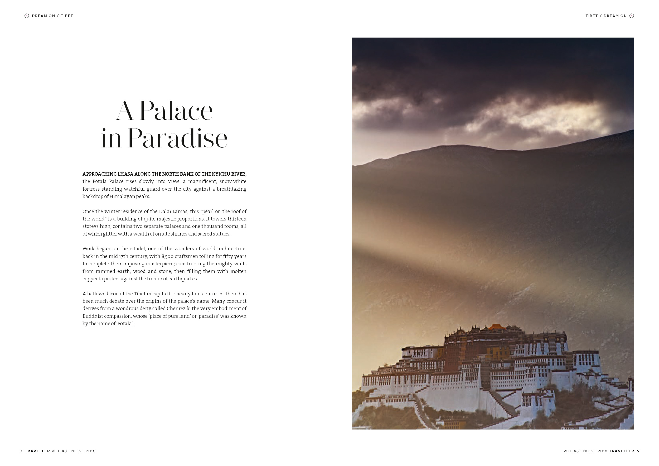 Published photography | Tibet | Traveller Magazine