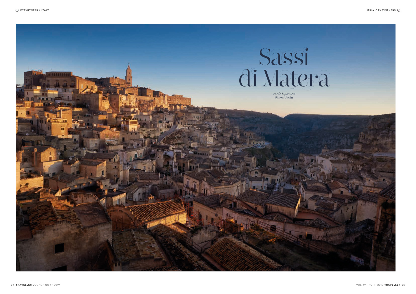 Italy | Traveller Magazine | Simon Urwin | Published Articles & Photography