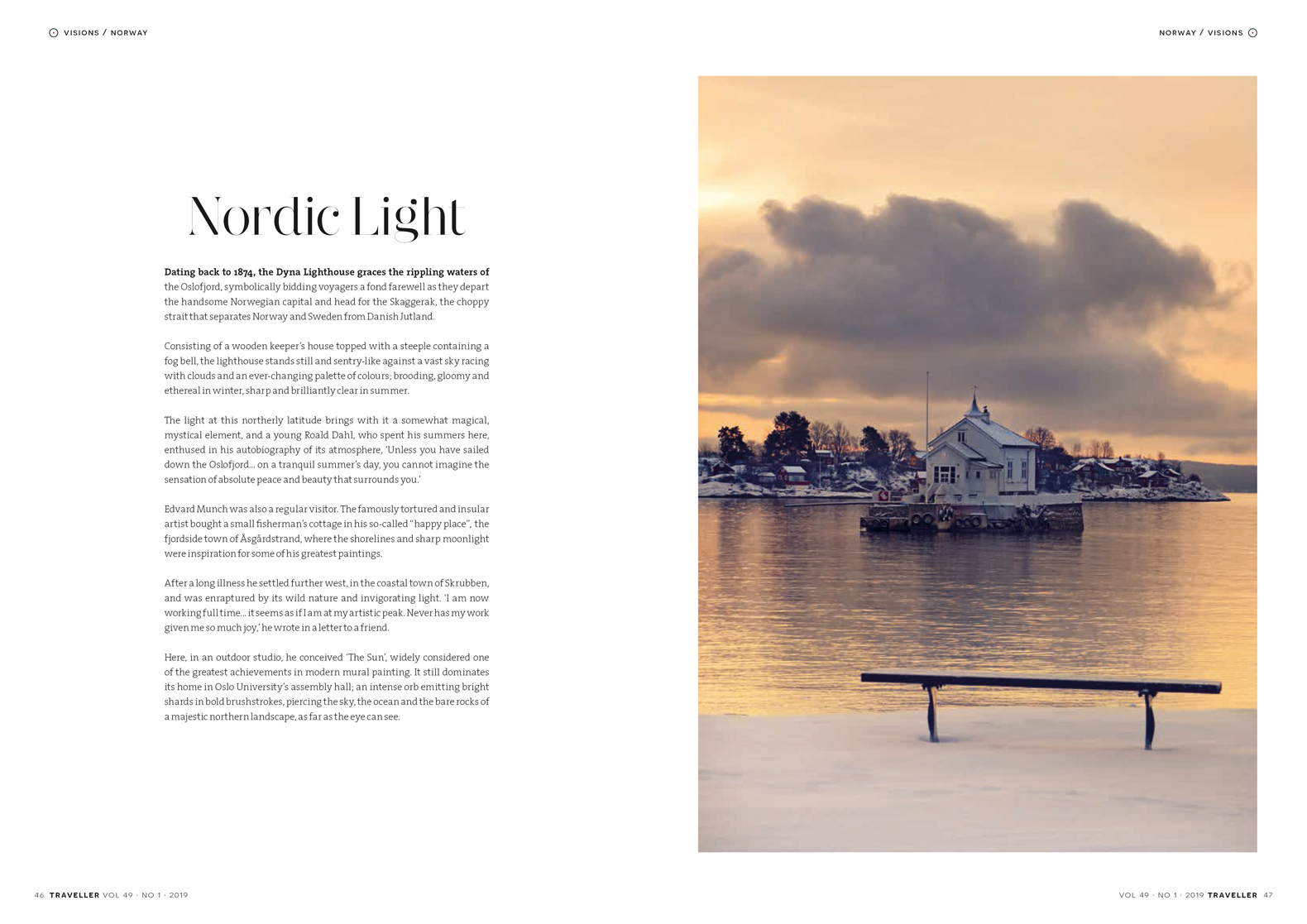 Norway | Traveller Magazine | Simon Urwin | Published Articles & Photography