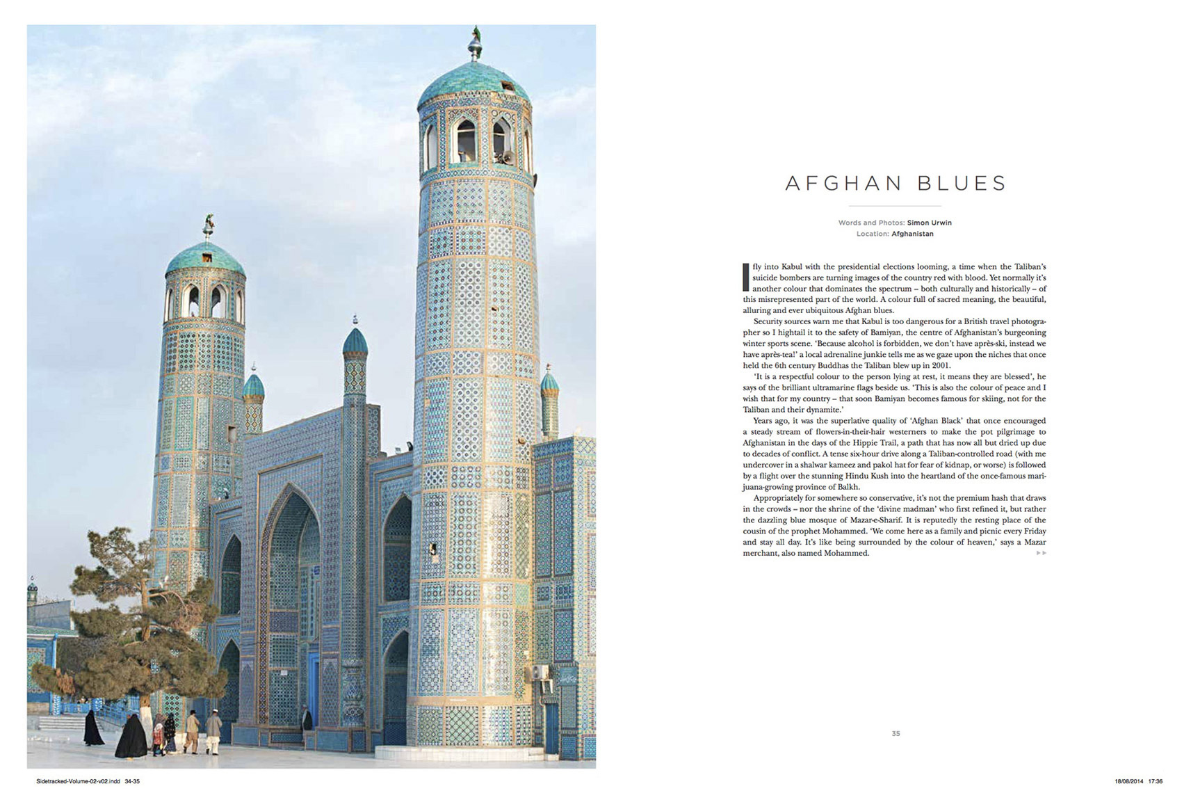 Published photography | Afghanistan | Sidetracked Magazine
