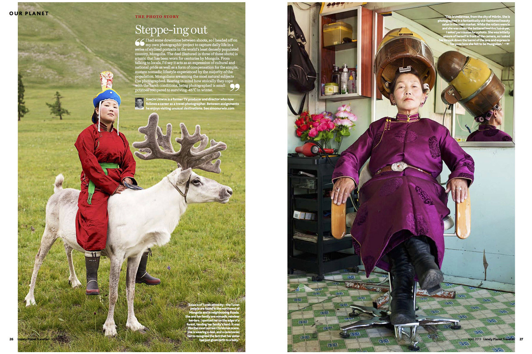 Mongolia | Lonely Planet Traveller Magazine | Simon Urwin | Published Articles & Photography