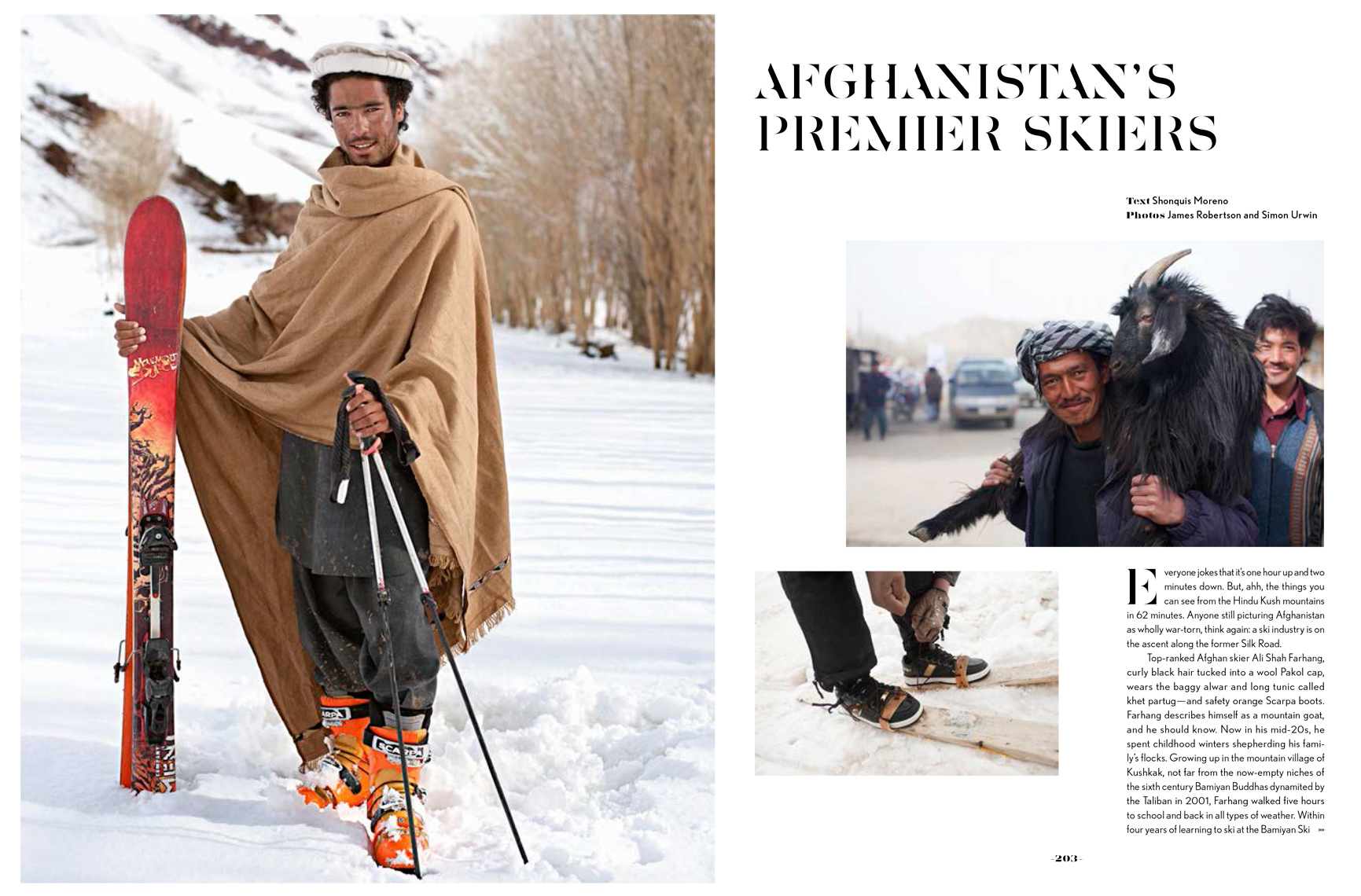 Published photography | Afghanistan | Below Zero | Skiing | Gestalten Books