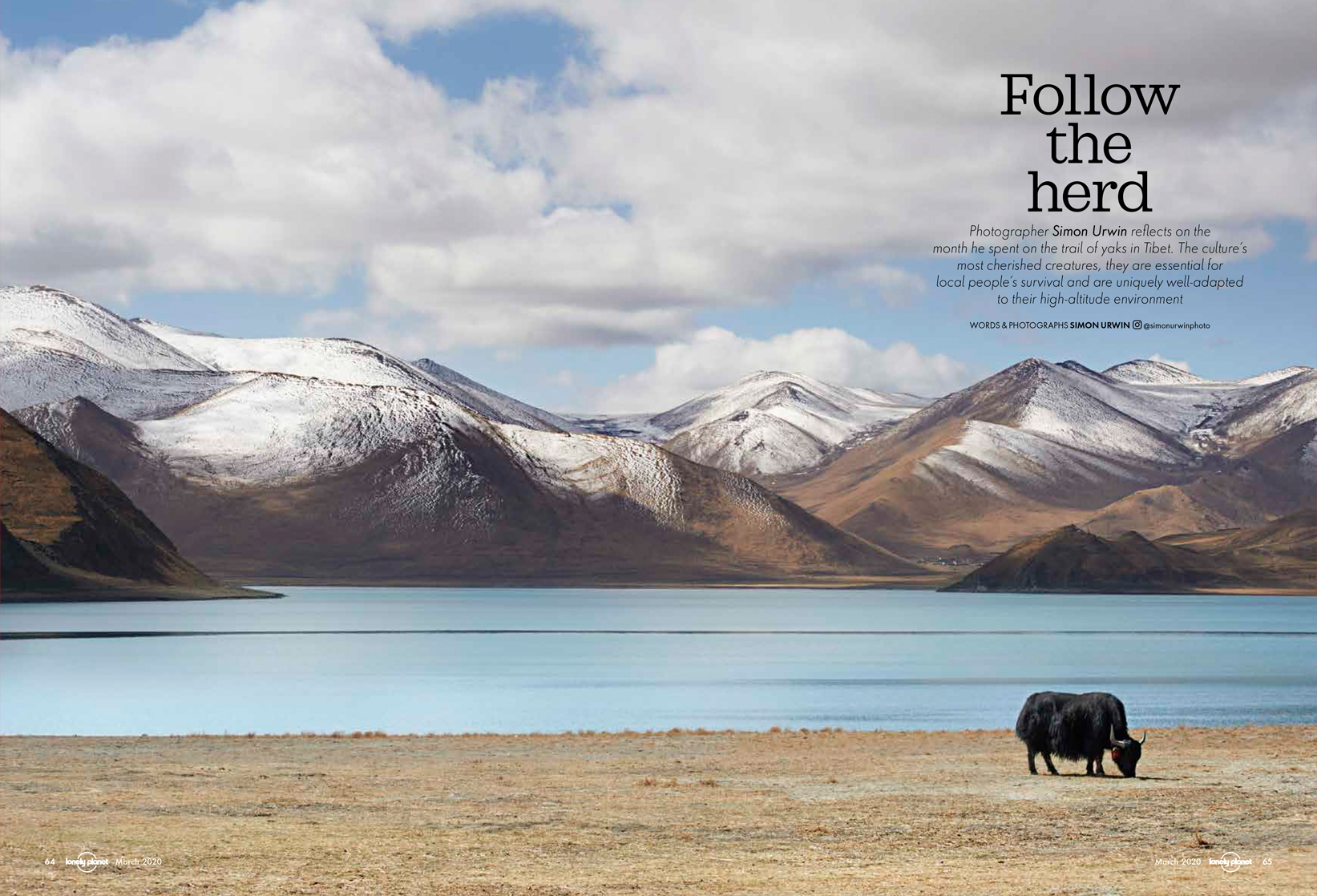Tibet, Lonely Planet Traveller | Simon Urwin | Published Articles & Photography