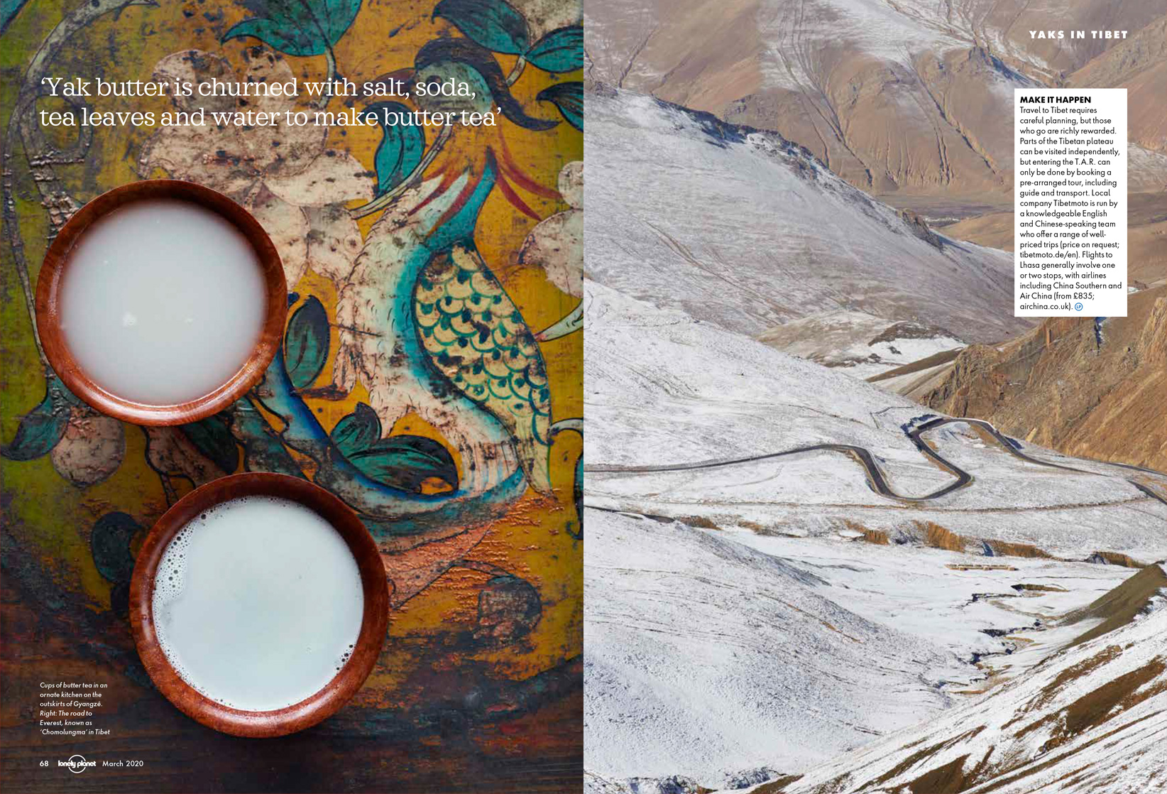 Tibet, Lonely Planet Traveller Magazine | Simon Urwin | Published Articles & Photography